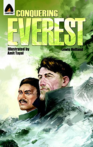 9789380741246: Conquering Everest: The Lives of Edmund Hillary and Tenzing Norgay: A Graphic Novel (Campfire Graphic Novels)