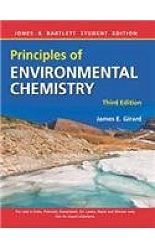9789380853970: Principles of Environmental Chemistry