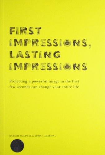 9789380942919: First Impressions, Lasting Impressions