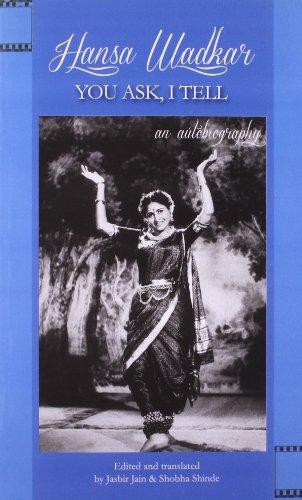 I Speak, You Listen: An Autobiography: Hansa Wadkar &