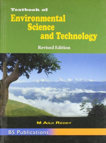 Textbook of Environmental Science and Technology: Reddy M. Anji