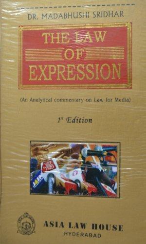 Law of Expression: Madabhushi Sridhar