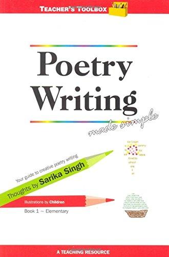 9789381115503: Poetry Writing Made Simple 1 Teacher's Toolbox Series