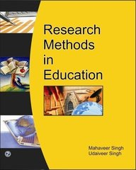 RESEARCH METHOD IN EDU