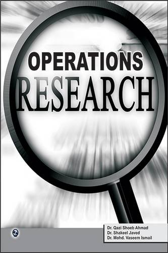 9789381159651: Operations Research