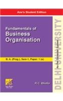 9789381162460: Fundamentals of Business Organisation