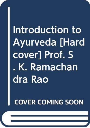 9789381218648: Introduction to Ayurveda