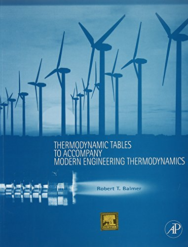 Modern Engineering Thermodynamics With Thermodynamic Tables: Balmer Robert T.