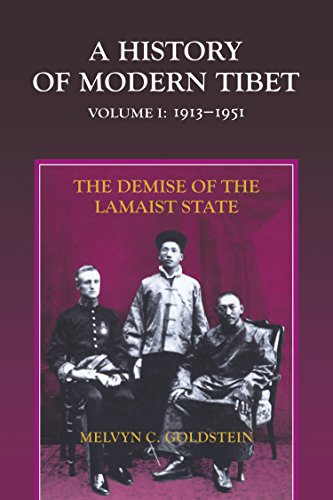 9789381406373: A History of Modern Tibet, Volume 1: The Demise of the Lamaist State, 1913-1951