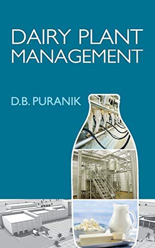 Dairy Plant Management: D.B. Puranik