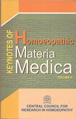 Keynotes of Homoeopathic Materia Medica Vol. II