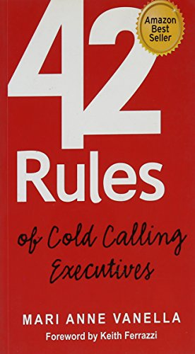 9789381639078: 42 Rules of Cold Calling Executives