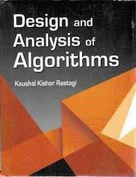 Design and Analysis of Algorithms: Kaushal Kishor Rastogi
