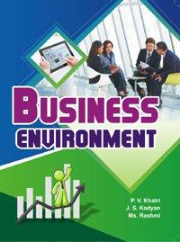 Business Environment: P.V. Khatri,J. S.