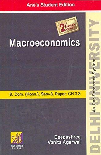 Macroeconomics (B.Com. (Hons.), Sem-3: Deepashree
