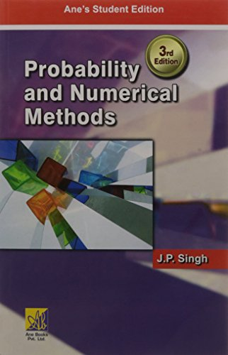 Probability and Numerical Methods: J.P. Singh