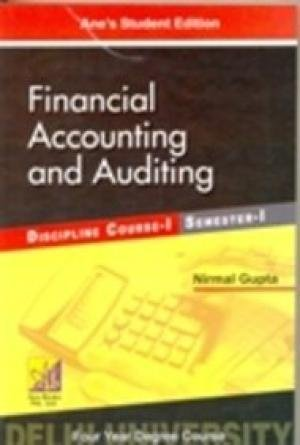 Financial Accounting and Auditing: Nirmal Gupta
