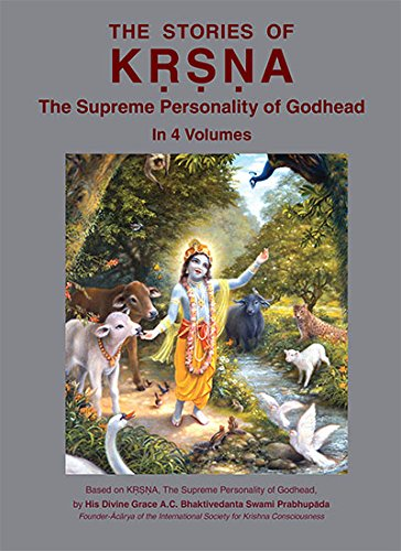 9789382176046: The Stories of Krishna (In 4 Vol.) (Childrens book)