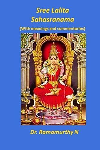 9789382237150: Sree Lalita Sahasranama: Translation of Bhaaskaraya's Bhaashyam
