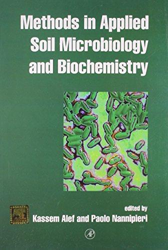 Methods In Applied Soil Microbiology And Biochemistry: Alef Kassem Et.Al