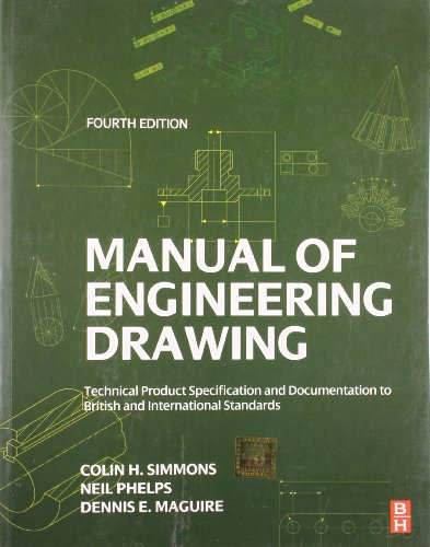 9789382291572: Manual of Engineering Drawing