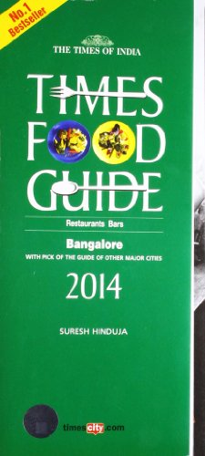 9789382299578: Times Food Guide Bangalore 2014