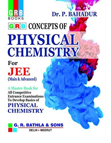P Bahadur Physical Chemistry Book
