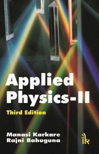 9789382332220: Applied Physics-II(Third Edition)