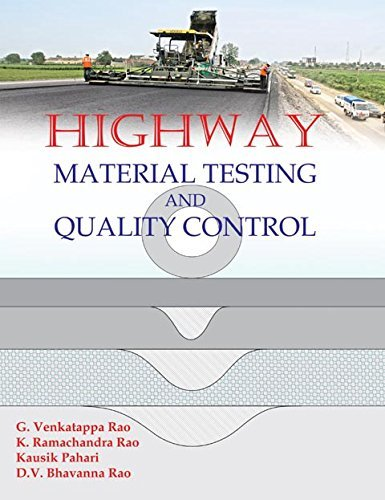 Highway Material Testing & Quality Control: D.V. Bhavanna Rao,G.
