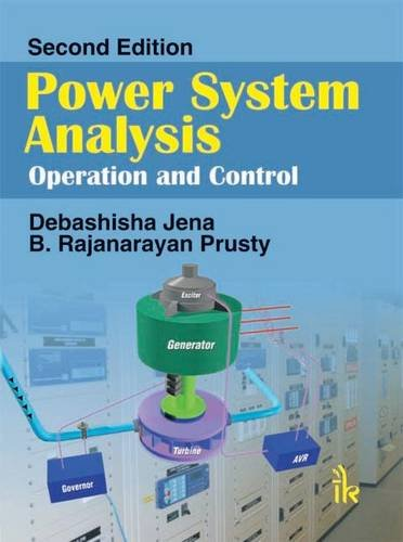 Power System Analysis Operation and Control: Debashisha Jena