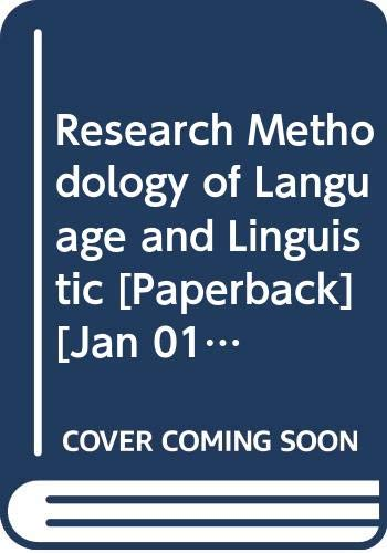 Research Methodology of Language and Linguistic: Jadhao Nitin