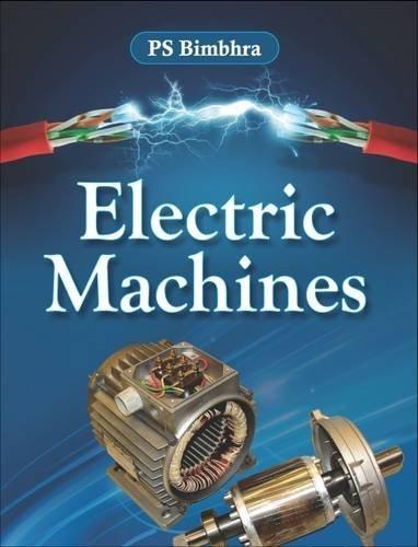 Electric Machines: P.S. Bimbhra