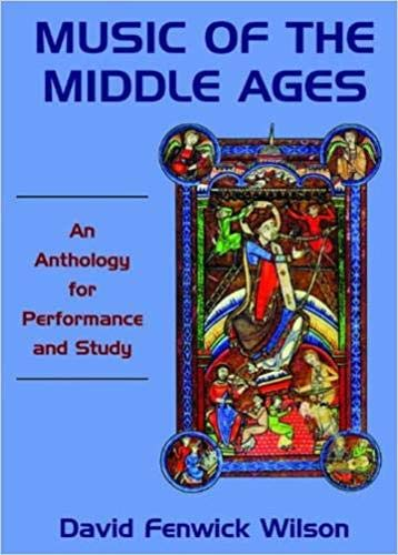 9789382661023: Music of the Middle Ages: An Anthology for Performance and Study