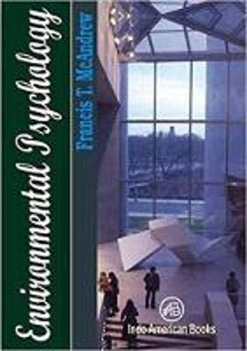 9789382661320: Environmental Psychology