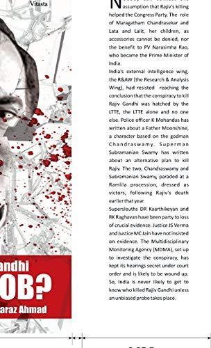 Assassination of Rajiv Gandhi: An Inside Job?: Ahmad Faraz