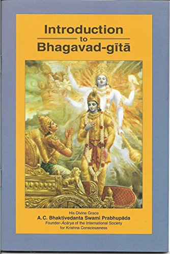 9789382716884: Introduction To Bhagavad-Gita