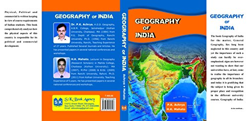 Geogrophy of India: Dr. P.K.Acharya. H.K.Mahato