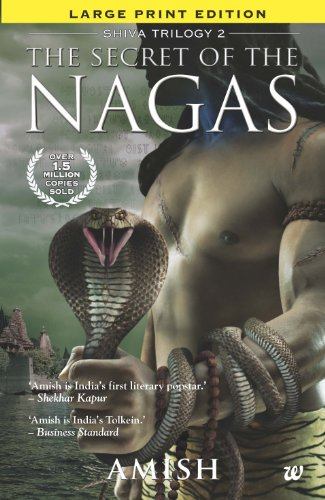 9789383260133: The Secret of Nagas Large Print Edition