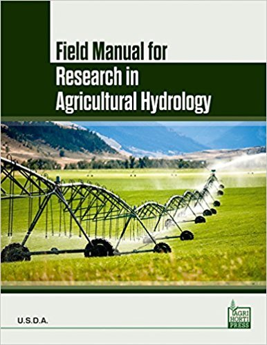 9789383285242: Field Manual for Research in Agricultural Hydrology