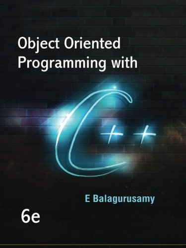 9789383286508: Object Oriented Programming with C++: 6e