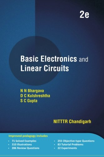9789383286607: Basic Electronics and Linear Circuits: 2e