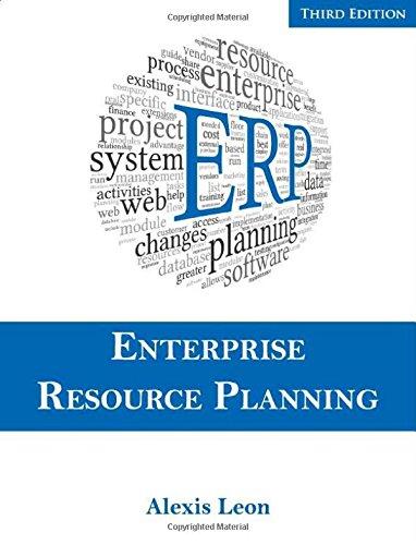 ERP: Enterprise Resource Planning (Third Edition): Alexis Leon
