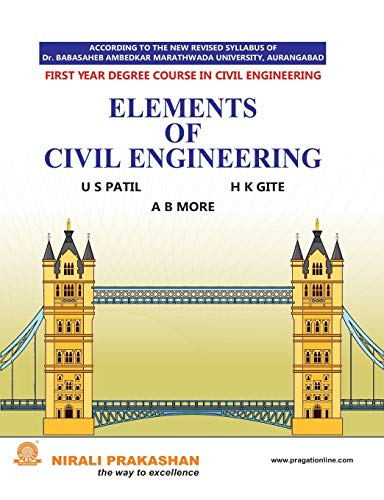 ELEMENTS OF CIVIL ENGINEERING: A B MORE;