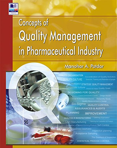 9789383635092: Concepts of Quality Management in Pharmaceutical Industry