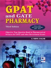 GPAT and GATE Pharmacy: Includes Solved Papers: Sagar, G Vidya