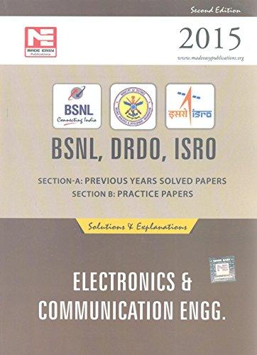 BSNL DRDO ISRO : Electronics Engineering : MADE EASY Team