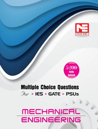 9789383643196: 5200 Fully Solved Mcq For Ies, Gate & Psus: Mechanical Engineering
