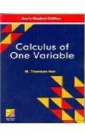 Calculus Of One Variable: M.Thamban Nair (Author)