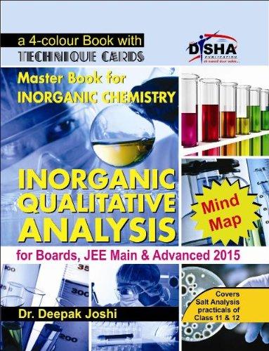 9789384089054: Inorganic Qualitative Analysis For Boards