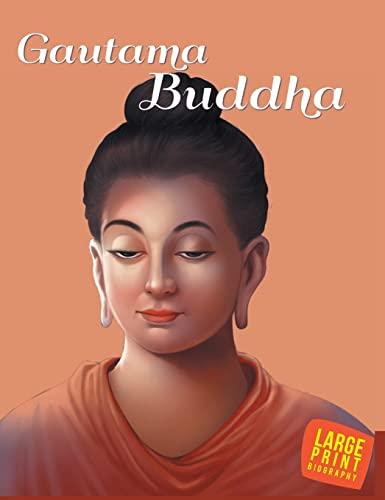 LARGE PRINT GAUTAM BUDDHA: Omkidz